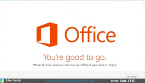 Microsoft Office error